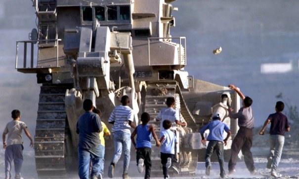 D-9 bulldozer in West Bank