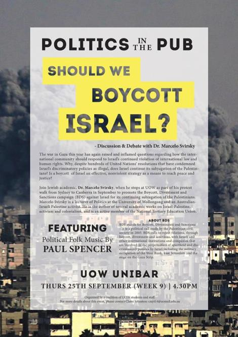 Should we boycott Israel 2